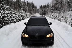 Тонировка автомобиля зимой