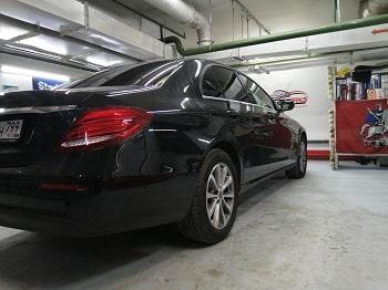 Тонировка задних стекол Mercedes от tonirovkamoskva