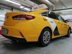 Тонировка Hyundai Sonata от CarWorks