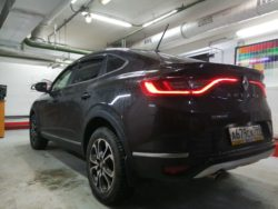 Тонировка Renault Arkana от CarWorks