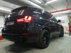 Тонировка Bmw X5 от CarWorks