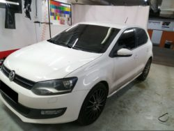 Тонировка VolksWagen Polo от CarWorks