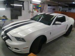 Тонировка Ford Mustang от CarWorks