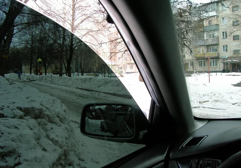 Тонировка авто зимой