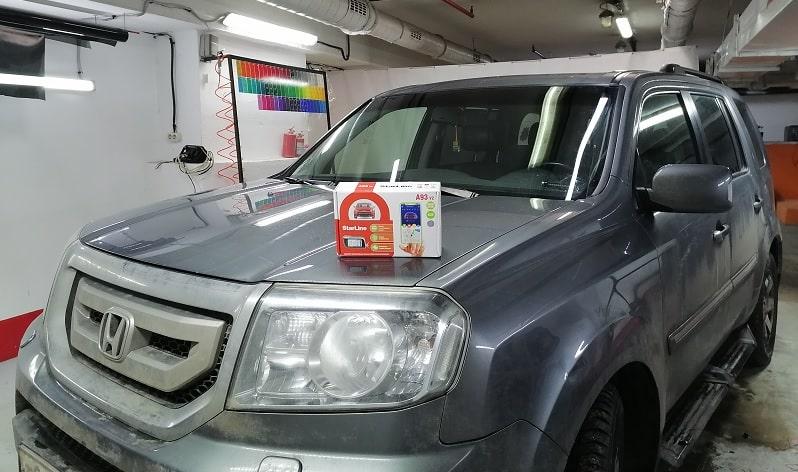 Установка сигнализации Honda Pilot