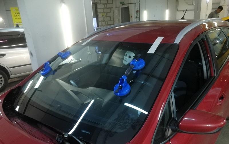 Замена стекол от CarWorks
